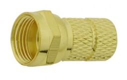 F Twist On RG59 Gold