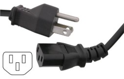 COMPUTER AC CORD 3 PRONG 6FT