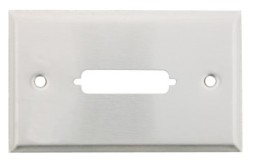 STAINLESS WALL PLATE DB25