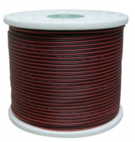 20G RED & BLACK SPEAKER CABLE 1000'